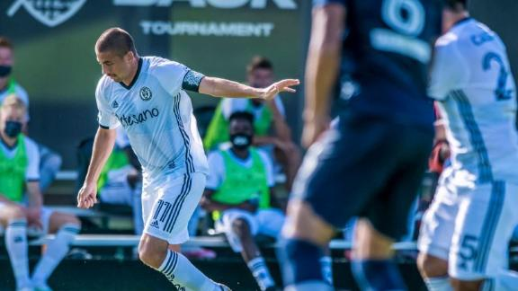 Bedoya's second-half goal lifts Union past NYCFC