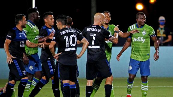Sounders and Earthquakes battle to scoreless draw