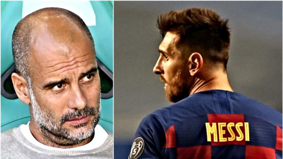 Lionel Messi would suit Man City 'perfectly'