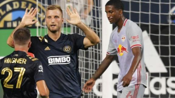 Przybylko earns Union hard-fought win over Red Bulls