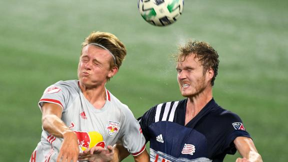 Revs and Red Bulls play to 1-1 draw