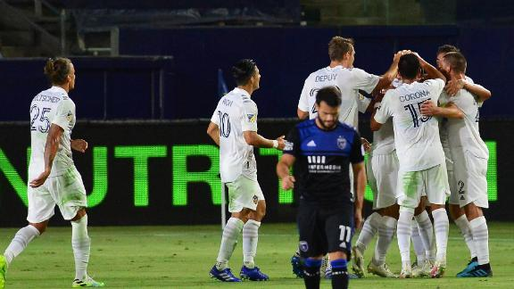 Lletget's late winner pushes Galaxy past Earthquakes