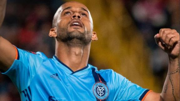 Heber nets first goal of the season in NYCFC win