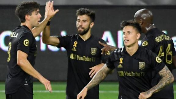 Rossi scores brace in LAFC's 5-1 rout of San Jose