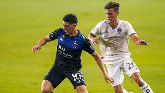 Earthquakes & Rapids share spoils in 1-1 draw