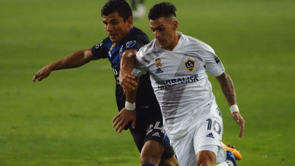 San Jose Earthquakes hold off LA Galaxy in scoreless draw