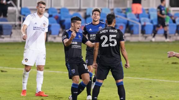 Rios spot kick caps San Jose's comeback win over LA Galaxy
