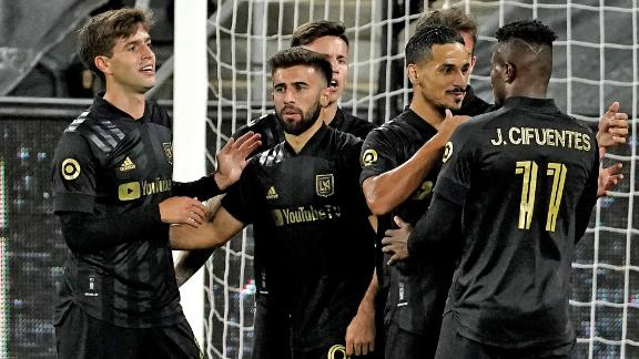 LAFC go fourth in the West with 2-1 win vs. Houston