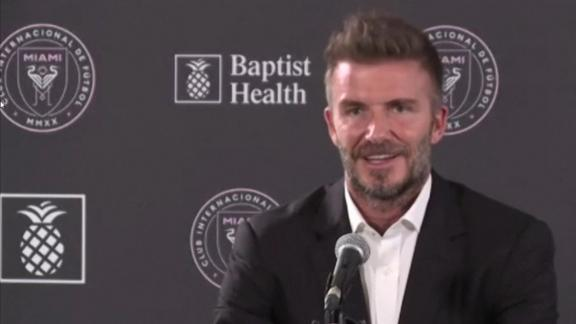 Beckham: Friendship has nothing to do with hiring Neville