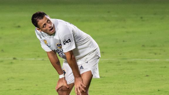 Chicharito addresses his struggles so far with the LA Galaxy