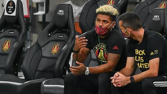Josef Martinez: I got frustrated watching Atlanta in 2020