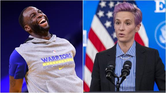 Draymond's heart 'is in the right place' in Rapinoe response