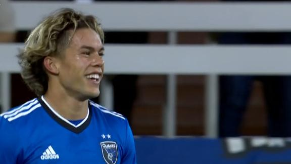 Cade Cowell off to hot start vs. DC United