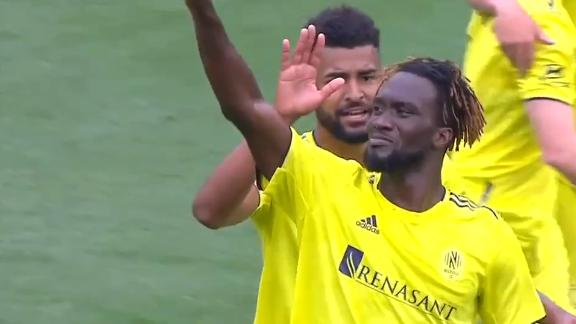 Sapong gets his first goal with Nashville SC
