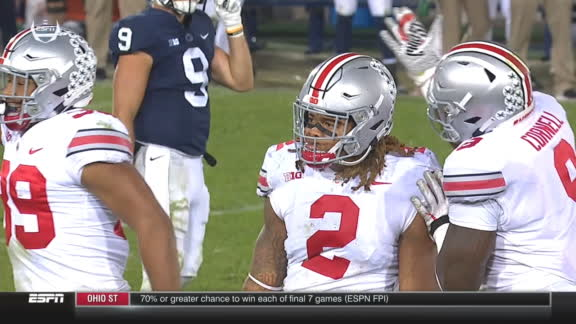 Young's big stop gives Buckeyes the win