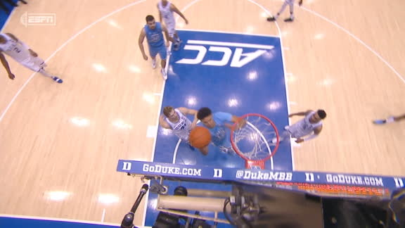 Johnson's and-1 layup all but finishes off Duke