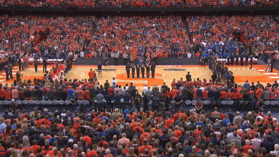 Syracuse holds moment of silence for Jorge Jimenez