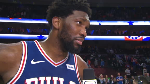 Embiid: 'I'm the most unstoppable player in the league'