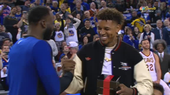 Swaggy P gets his championship ring