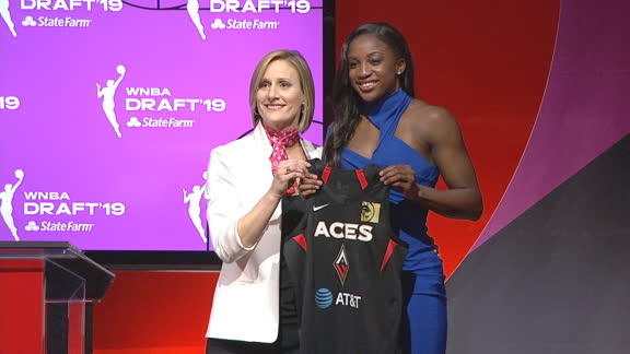 Aces select Young 1st in WNBA draft