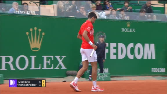 85a8d91957c El adivino Djokovic y un passing implacable