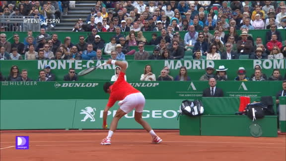 dbb3cc51a1d ¡DÍA DE FURIA! Djokovic destrozó la raqueta y fue abucheado