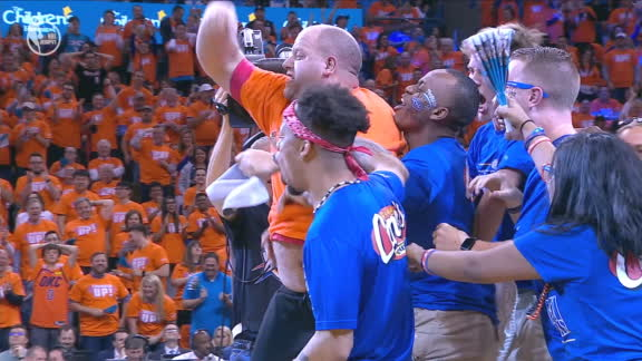 Another fan hits $20K shot in OKC
