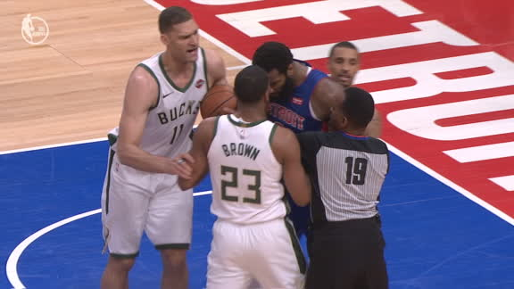 Drummond, Brown assessed technical fouls for altercation