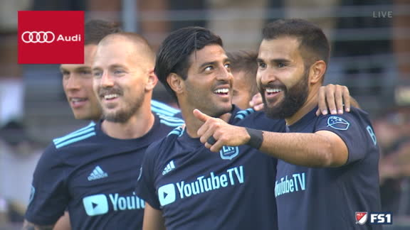 Vela scores first for LAFC