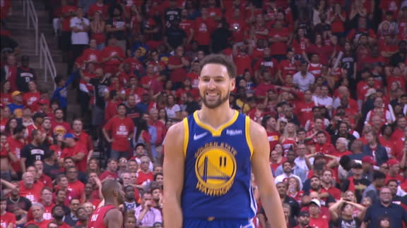 Klay drains clutch 3-pointer late