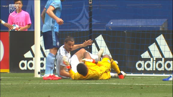 Should Zlatan have seen red for this incident?