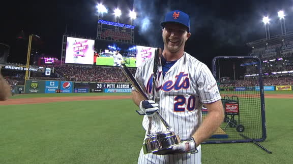 Alonso beats Guerrero in the finals to win HR Derby
