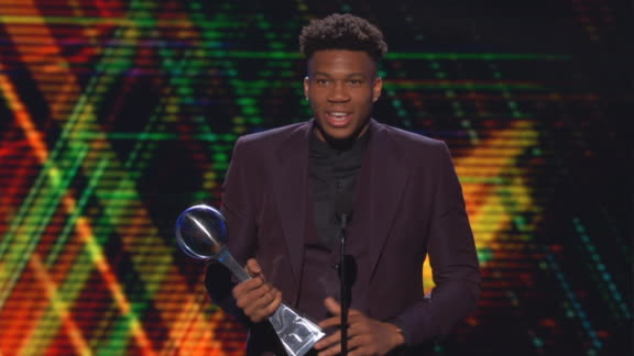 Giannis humbled after winning Best Male Athlete