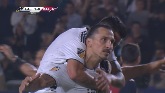 Zlatan gets his 2nd goal with a penalty