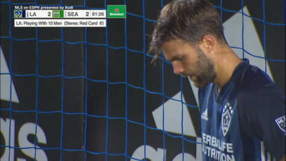 Sounders gifted an equalizer by Galaxy gaffe
