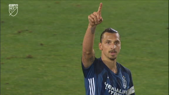 Zlatan wins then converts a penalty to put LA Galaxy ahead