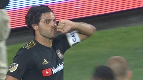 Vela's 27th goal of 2019 brings LAFC level