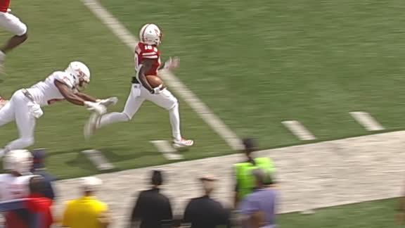 Nebraska's Spielman races for 76-yard punt return TD