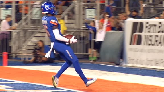 Bachmeier finds Hightower for 47-yard TD