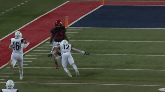 Brightwell leaves defenders in dust on 94-yard Arizona TD