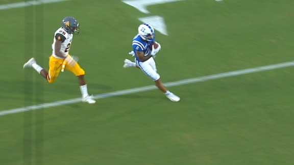 Harris drops 39-yard dime to Pancol for TD