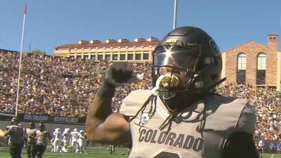 Colorado's Shenault escapes tackles for 42-yard TD