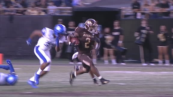 Western Michigan's Bellamy runs in for 73-yard TD