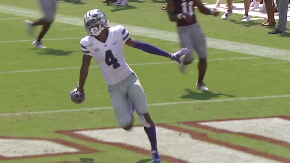 Kansas State's Knowles returns kickoff 100 yards for TD