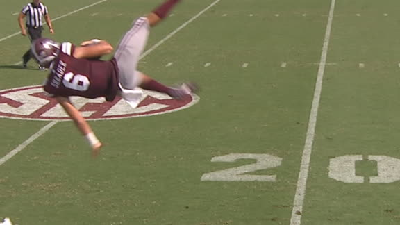 Mississippi State QB flies like a helicopter