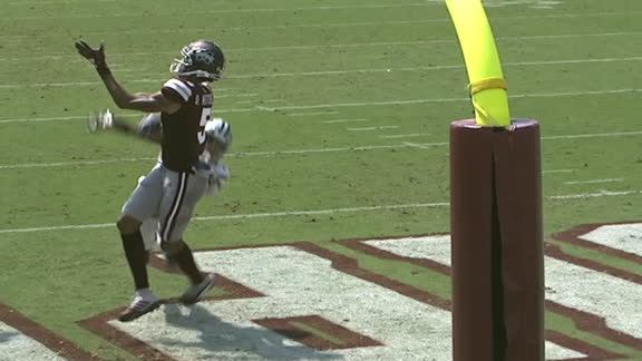 Mississippi State's Mitchell makes one-handed TD grab