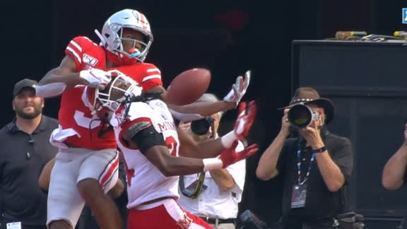 Ohio State's Wilson Mosses defender for juggling TD catch