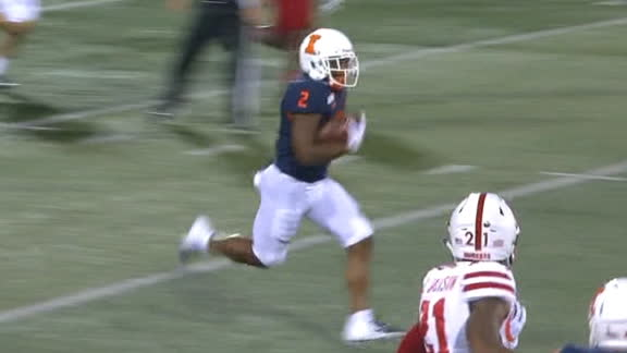 Illinois scores on Corbin's 66-yard run