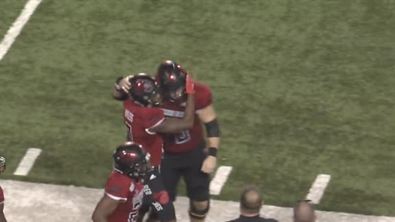 Arkansas State's Bonner and Bayless connect for 89-yard TD