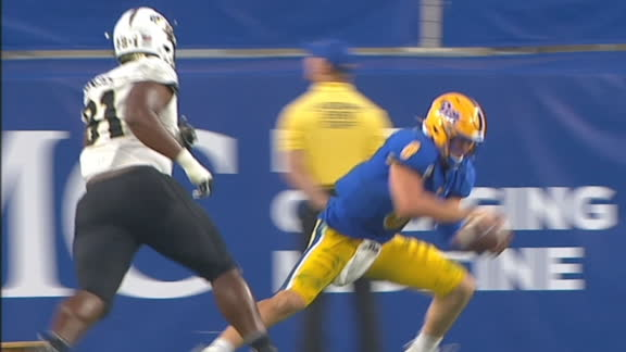 Pitt completes upset of UCF with 'Pitt Special'